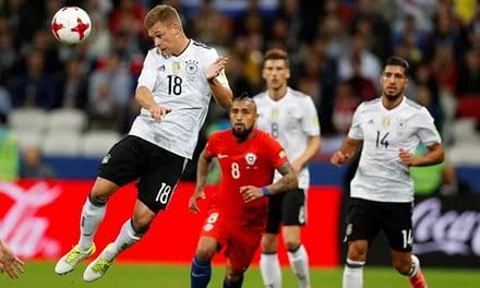 Copa Confederaciones: Chile empató con Alemania en el duelo de líderes del Grupo B