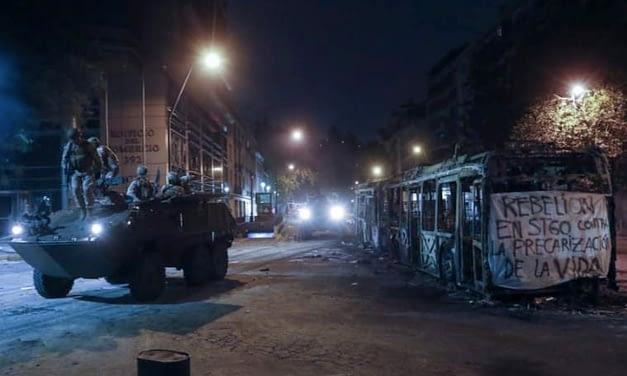 Defensa Nacional confirma toque de queda por sexta noche consecutiva