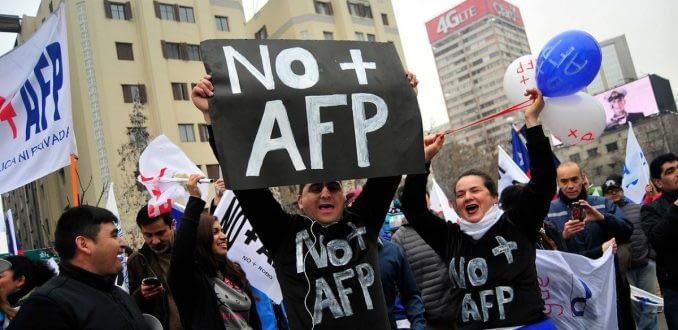 No+AFP convoca a nueva marcha este domingo y refuerza llamado a plebiscito