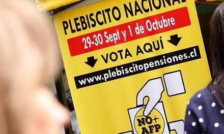Plebiscito No+AFP alcanza el millón de votantes