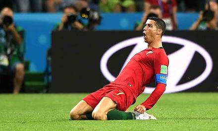 Cristiano Ronaldo salva a Portugal que empata con España