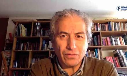 """Mario Aguilar: """"Nosotros queremos volver a clases, pero cuando estén las condiciones"""""""