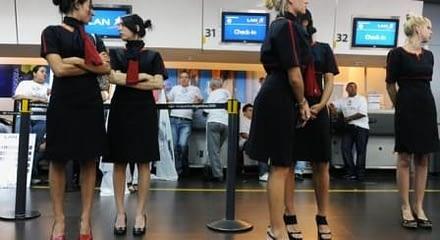 """Sindicato Lan: """"Desde el 16 de abril, ya no habrá como cubrir los vuelos"""""""
