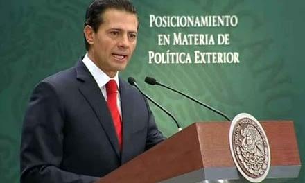Presidente Enrique Peña Nieto cancela visita diplomática a Estados Unidos