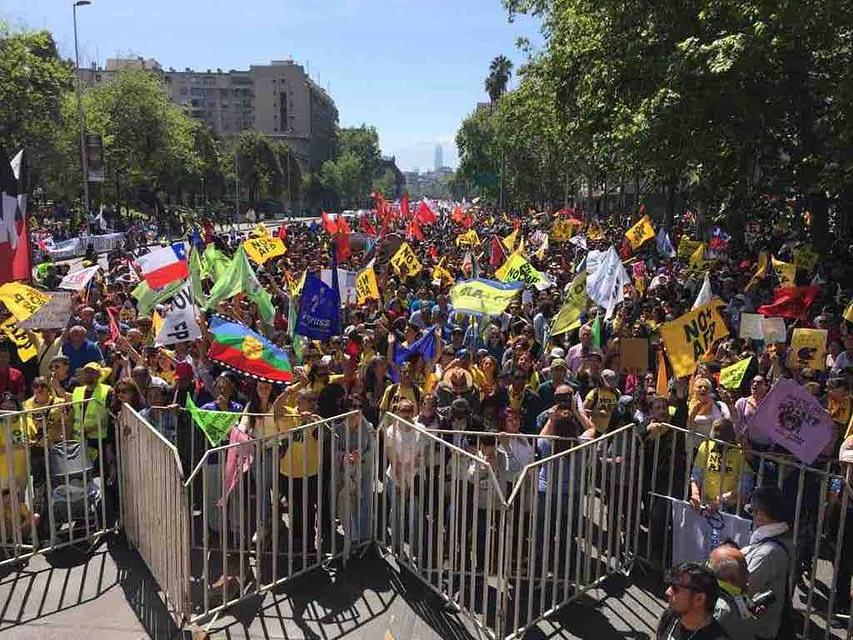 """Luis Mesina, vocero de No + AFP: """"La gente acogió el llamado nuevamente"""""""