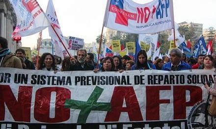 Con marcha nacional, NO+AFP vuelve a exigir el fin del sistema de pensiones