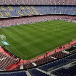 El referendum catalán llegó al fútbol