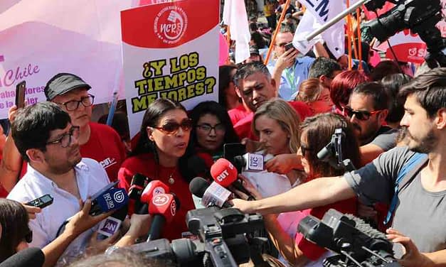 Con movilizaciones en todo Chile, CUT exige al Gobierno acoger demandas ciudadanas