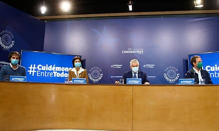 COVID-19: Chile supera los 5 mil fallecidos y alcanza los 260 mil contagios