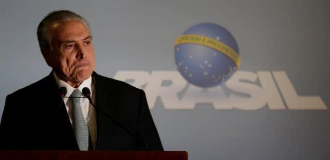 Brasil: Michel Temer se niega a renunciar