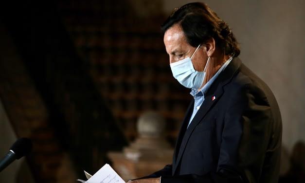 Víctor Pérez renuncia al Ministerio del Interior: Cámara declaró admisible acusación constitucional en su contra