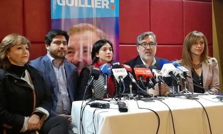 Nuevos voceros de Guillier: Todos militantes de partidos, ningún independiente