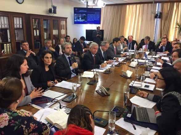 Comisión del Trabajo analizando la reforma previsional
