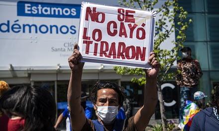 Bloque por el Derecho a la Comunicación critica cobertura mediatica de empujón a joven en Puente Pio Nono