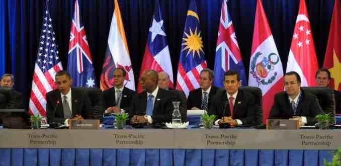 Organizaciones sociales latinoamericanas alertan sobre el resurgimiento del TPP