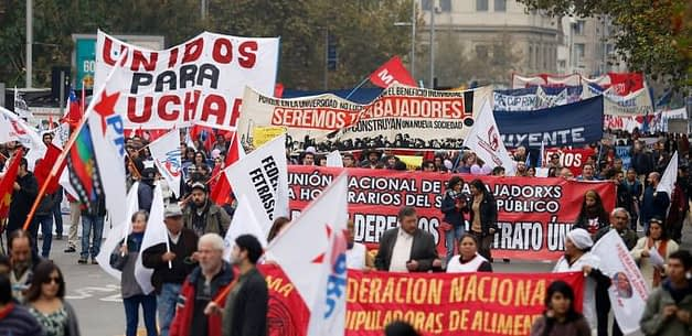 División del mundo sindical marca conmemoración del Día del Trabajador
