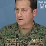 "General Iturriaga toma distancia del Presidente: ""No estoy en guerra"""