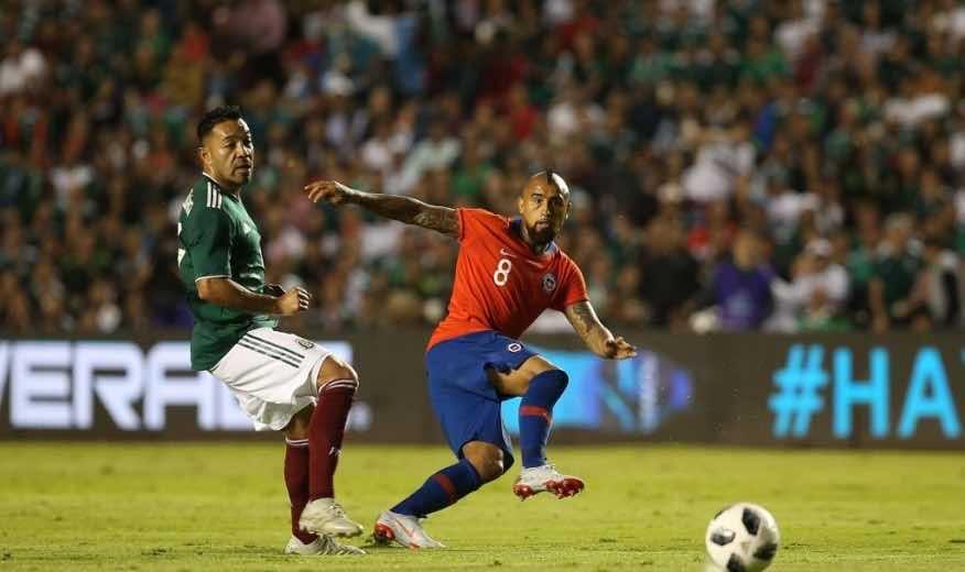 Chile enfrenta a México en la recta final de la Copa América