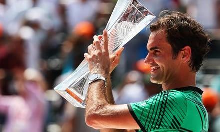Roger Federer acrecienta su leyenda al ganar el Masters de Miami