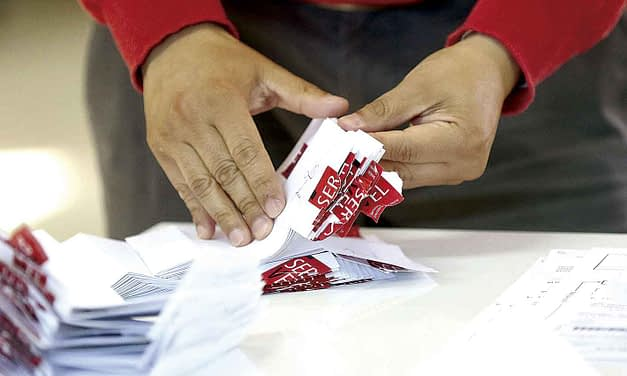 Así serán las papeletas del próximo plebiscito constitucional
