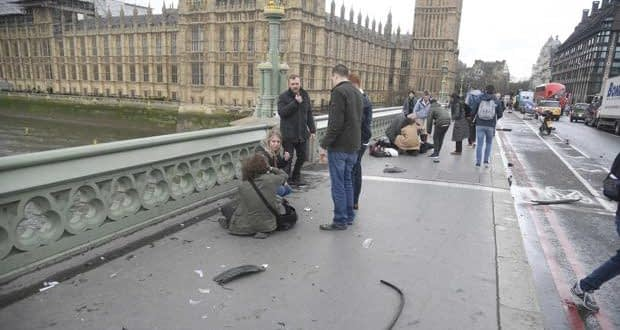Ataque a parlamento británico deja cuatro muertos y 20 heridos