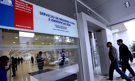 Once nuevos certificados del Registro Civil podrán adquirirse de forma gratuita