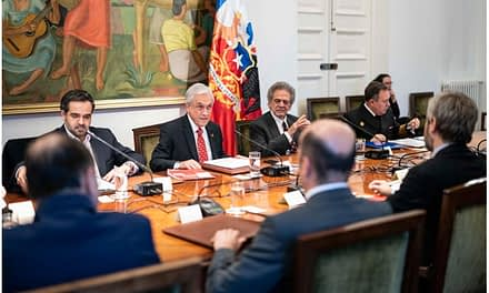 Reunión del Cosena: La Moneda pide fortalecer a las Fuerzas Armadas y de Orden