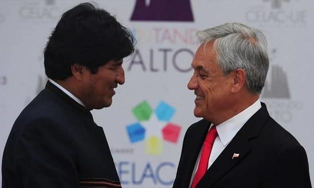 """Sebastián Piñera a Evo Morales: """"Los países honorables honran los tratados que firman"""""""