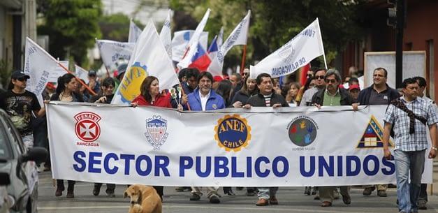 Mesa del Sector Público entrega su petitorio de negociación 2017