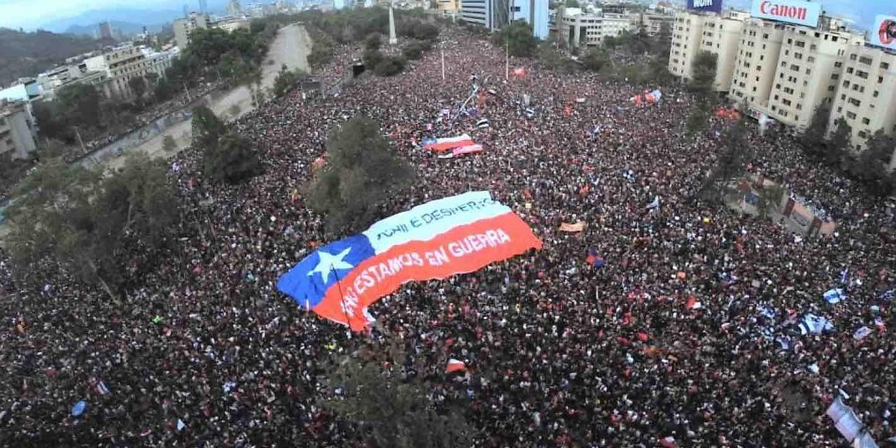 A cuatro meses del estallido social: la herida de Chile aún no cicatriza