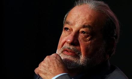 En medio de la crisis entre EEUU y México, el multimillonario Carlos Slim convocó a una rueda de prensa