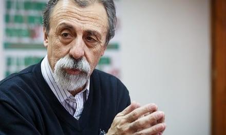 """Luis Mesina: """"Convocaremos a un plebiscito en octubre para recuperar derechos sociales"""""""