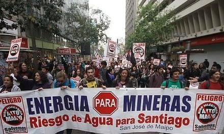 Crisis financiera e irregularidades ambientales ponen en jaque al proyecto Alto Maipo