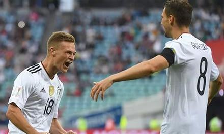 Con un combinado de jóvenes, Alemania venció a Australia en la Copa Confederaciones