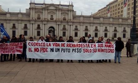 Trabajador de Codelco cumple 76 días en huelga de hambre