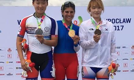 María José Moya medalla de oro en los Juegos Mundiales de Polonia