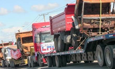 Camioneros convocan a Paro indefinido a partir de este miércoles