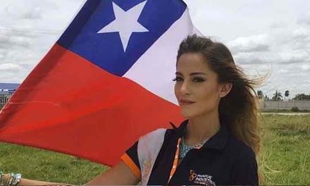 """Miss Chile sembró la polémica: """"El mar le pertenece a Bolivia"""""""
