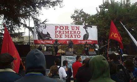Conoce los desvíos de tránsito por las marchas del 1 de mayo