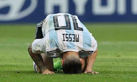 Se acaba el sueño de Messi, ¡Argentina fuera del Mundial!