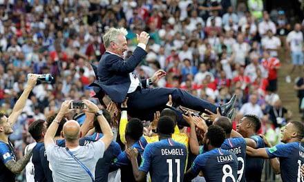 ¡Fiesta francesa! Les Bleus se coronan campeones en Rusia 2018