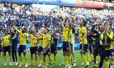 Suecia se mete en cuartos con deslucido triunfo ante Suiza