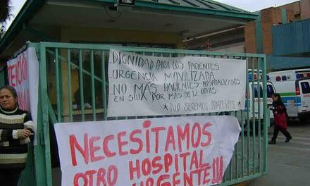 Trabajadores del Hospital San José se movilizan ante precaria infraestructura y equipamiento