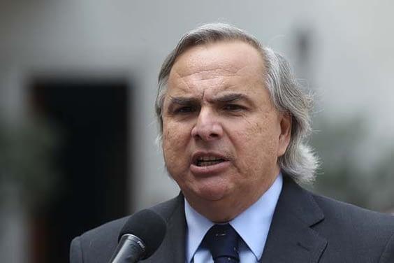Andrés Chadwick critica acusación constitucional contra ministros de la Corte Suprema