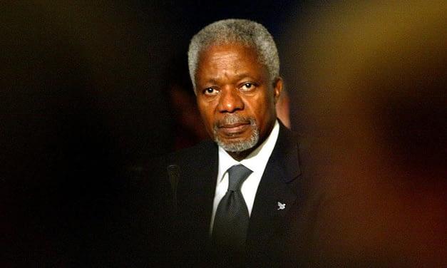 Muere Kofi Annan, Premio Nobel de la Paz