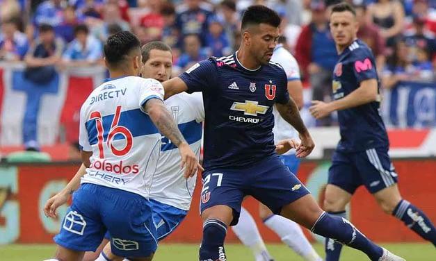 Universidad de Chile se impone en clásico universitario con un 2- 0