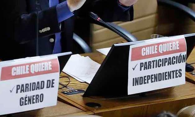Senado revisará en 2020 paridad de género y escaños reservados para constituyentes