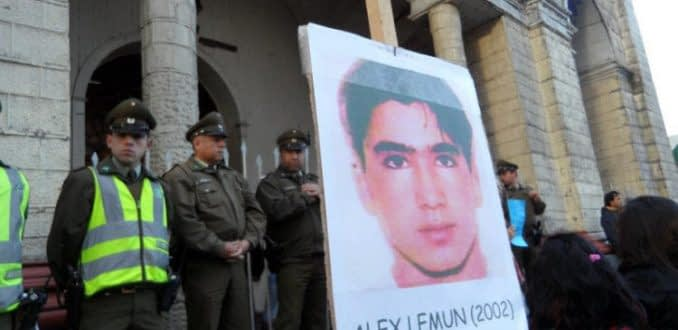 Corte Suprema ordena reabrir caso de muerte de Alex Lemún