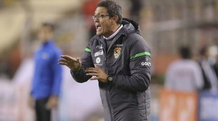 La provocadora declaración del entrenador de Bolivia tras el triunfo ante Chile
